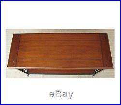 Accent Tables For Living Room Sofa Metal Wood Scroll Storage Display Shelf New