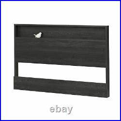 Full/Queen Size Headboard with Shelf Bookcase Bedroom Storage Display Furniture