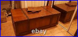 Lift Top Coffee Table withHidden Compartment Storage Shelf Furniture Living Room