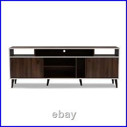 Mid-Century Modern Marion TV Stand with Storage & Shelves For TV's Up to 71