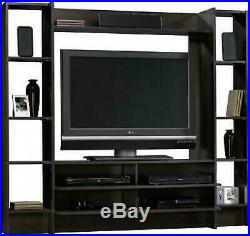 TV Stand Entertainment Center Living Room Wall Furniture Cabinet Shelves Storage